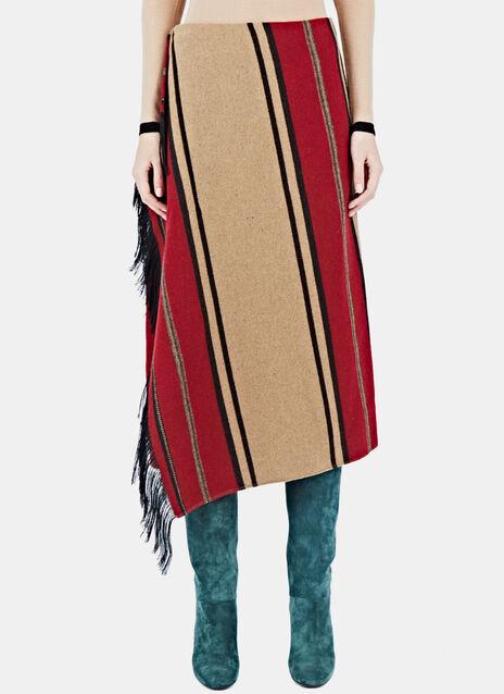 Woven Blanket Skirt