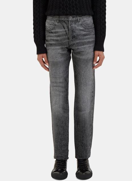 Landon Worn Slim Leg Jeans