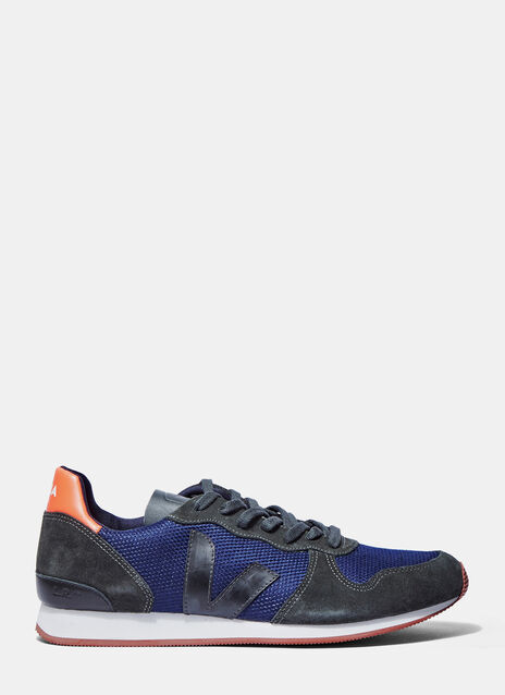 Holiday Low-Top Suede Panelled Sneakers