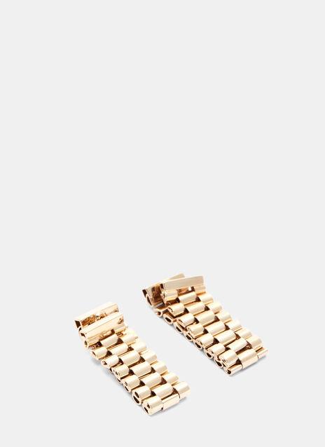 Looped Link Chain Earrings