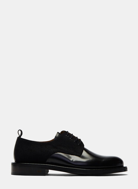 Felted Quarter Derby Shoes