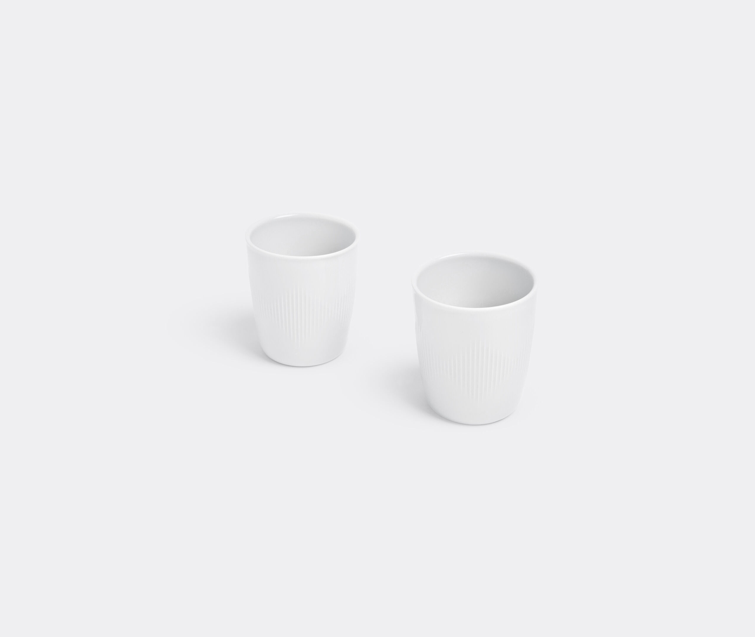 Thermodan Thermal Coffee Mug, White (2 Pcs.)