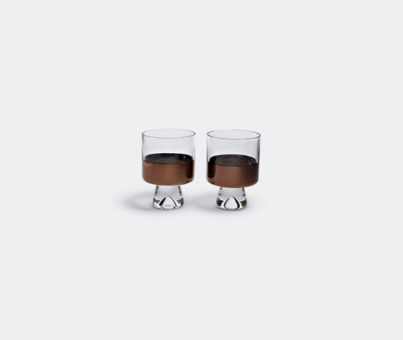 'Tank' low ball glasses, set of two