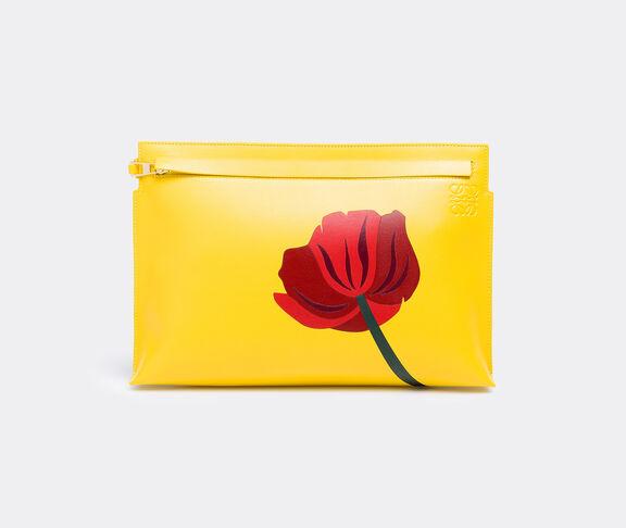 'Fiore T pouch' clutch