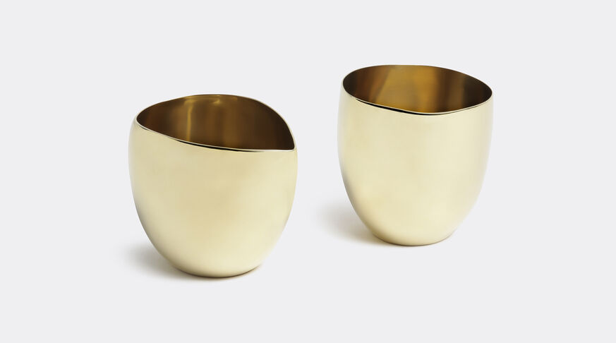 Cream & Sugar Set Brass (Brass)