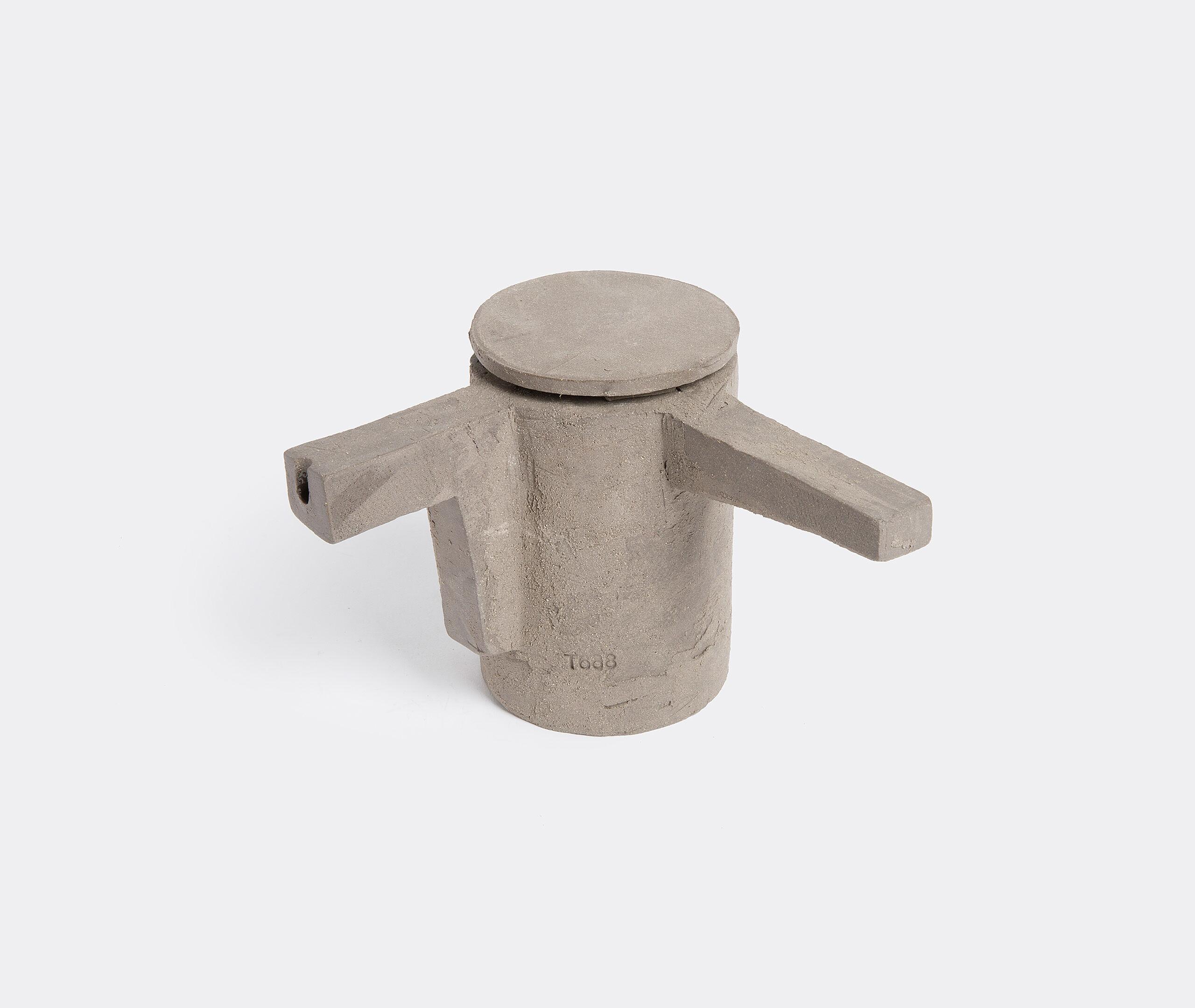 Theière 2 Ciment D10 H15 Bras 10