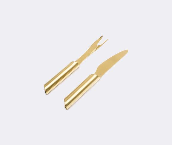 'Tuju' serving fork and knife
