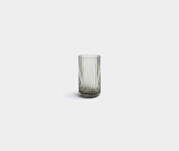 Smoke glass vase, small