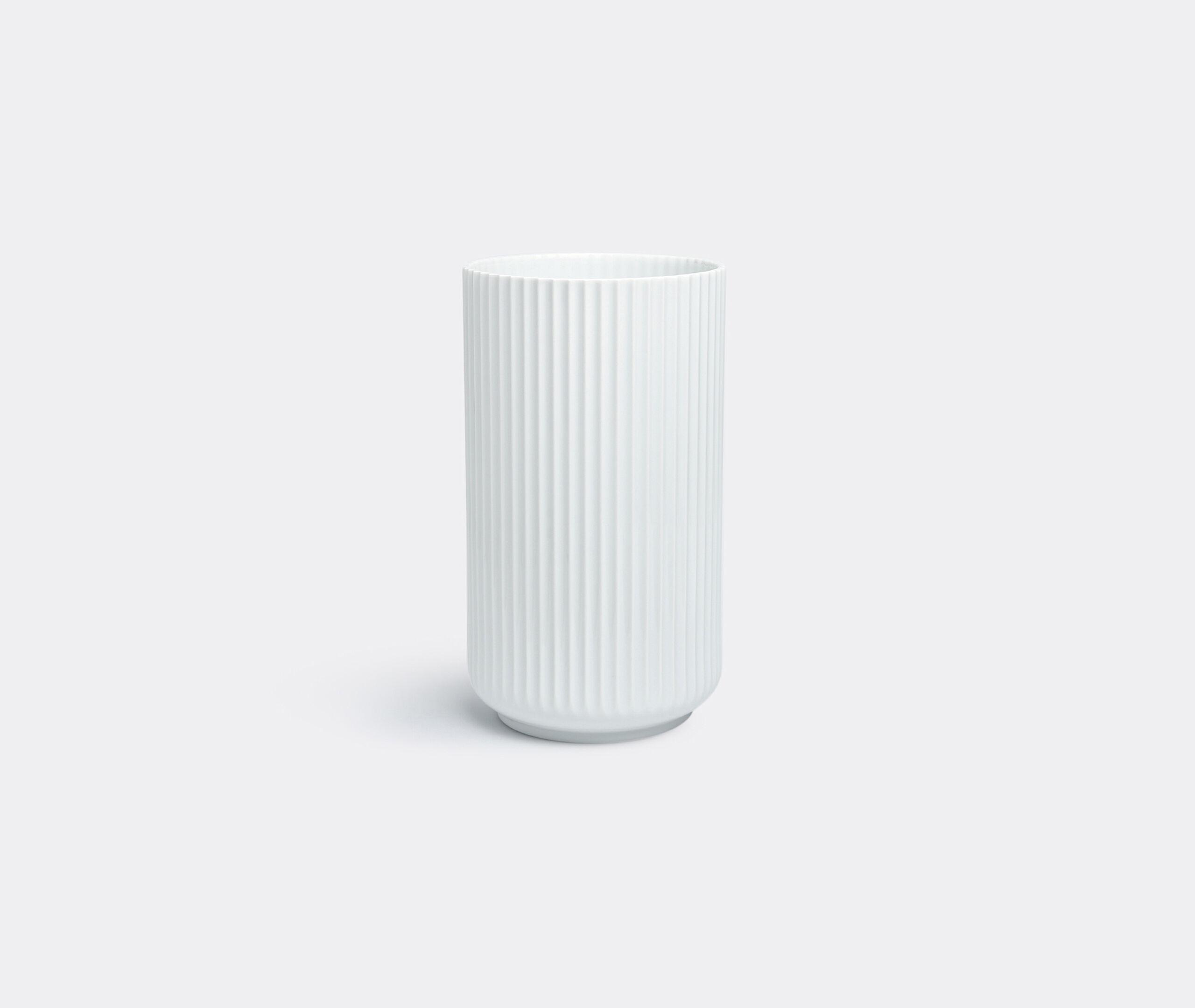 Lyngby Vase 31Cm, White