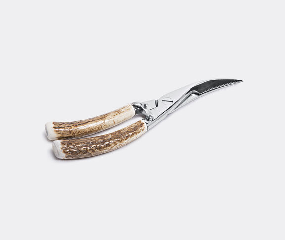 Stag antler poultry shears