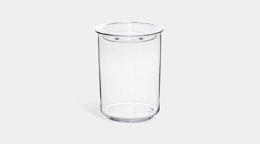 Cast Glass Lid Canister