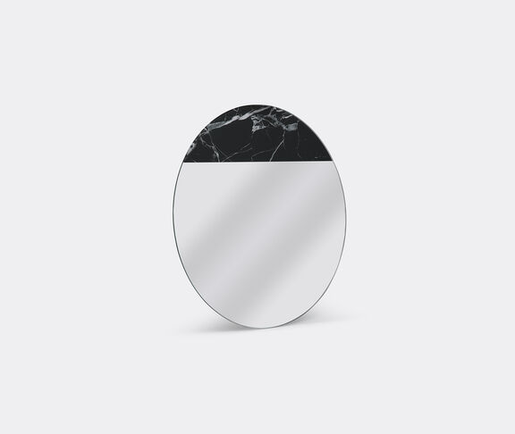 'One to one' digital marble print mirror
