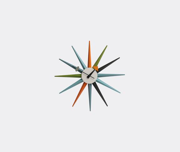 'Sunburst' clock