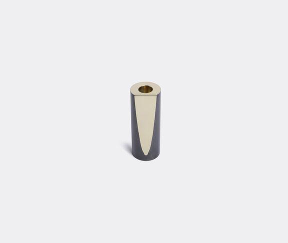 Slice brass candlestick