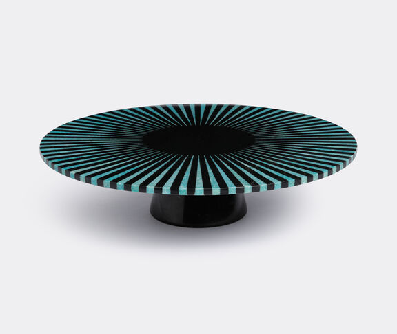 Amazonite stripe platter