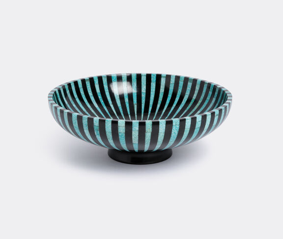 Amazonite stripe bowl