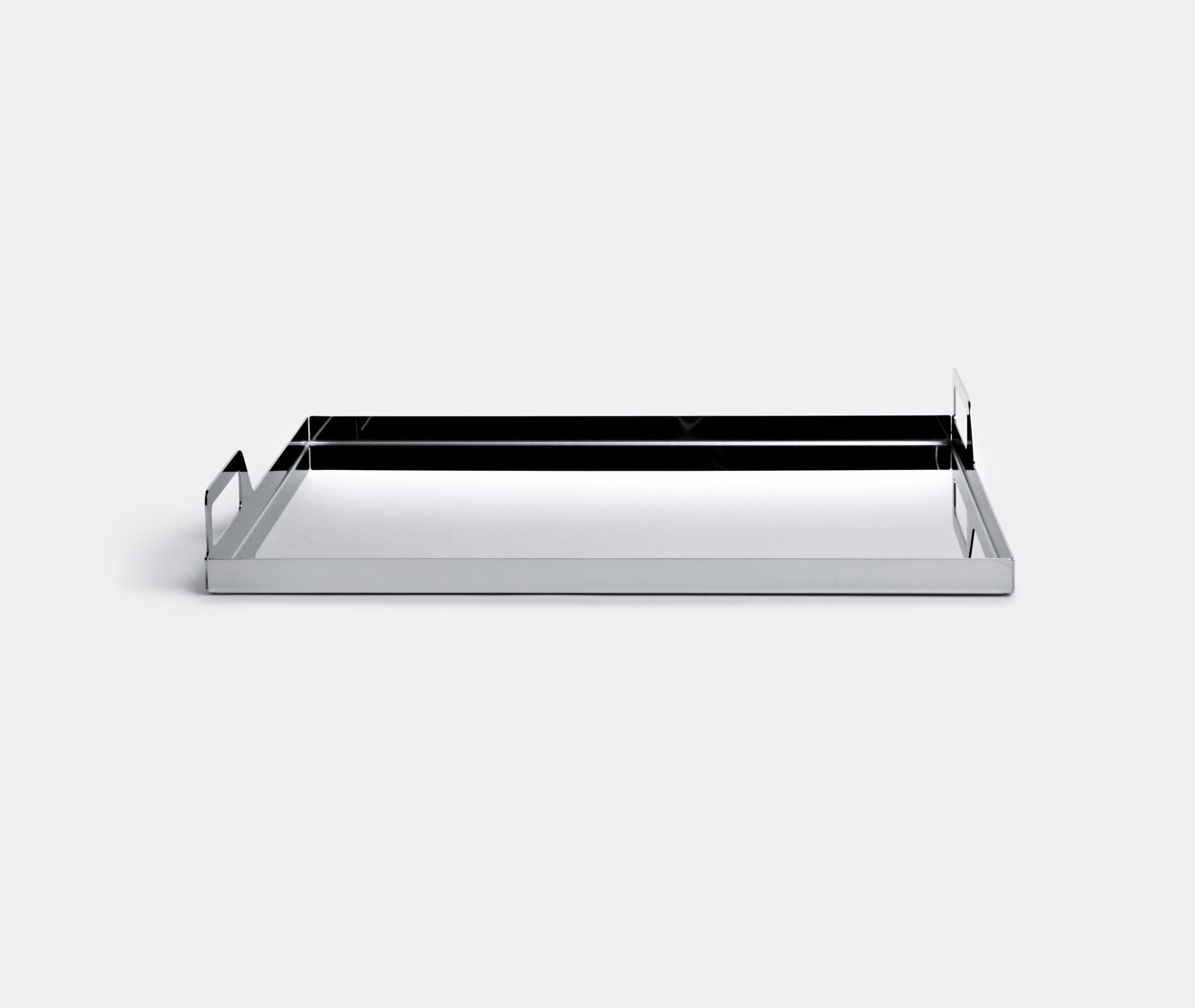 Rectangular Tray W/Handles Cm 45X35 Gio Ponti Luxury S/Steel
