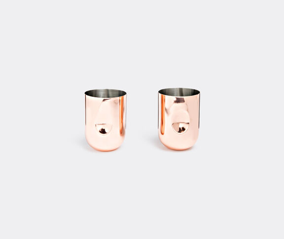 'Plum' Moscow mule mugs, set of two