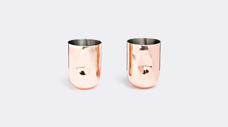 Plum Moscow Mule, Set Of 2