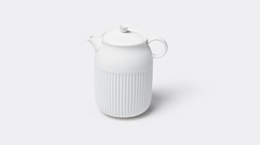 Tse Tea Pot, Unglazed White