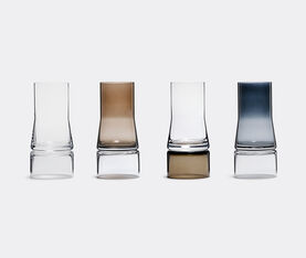 Joe Colombo Vase 2-In-1 Small, Clear/Brown Smoke