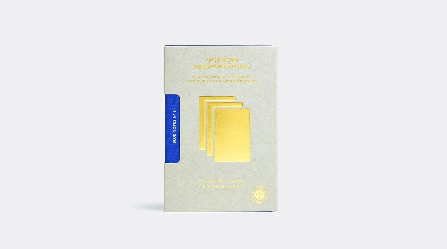 Box 3 X Blue Passport Notes