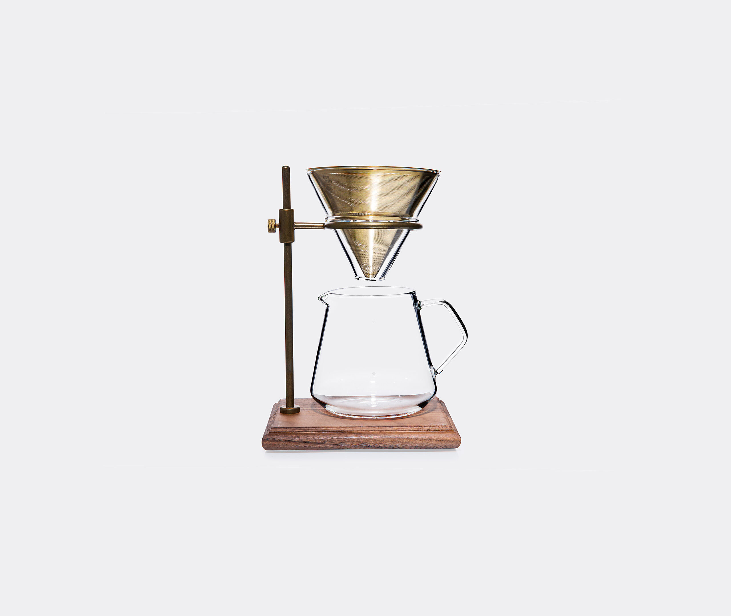 Slow Coffee Style Brewer Stand, Set 4 Cups