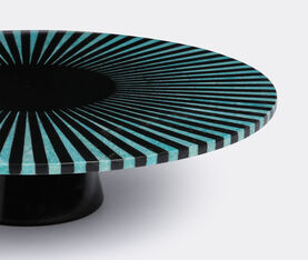 Amazonite And Black Marble Stripe Platter