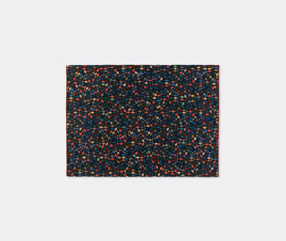 'Diamond' black carpet, large