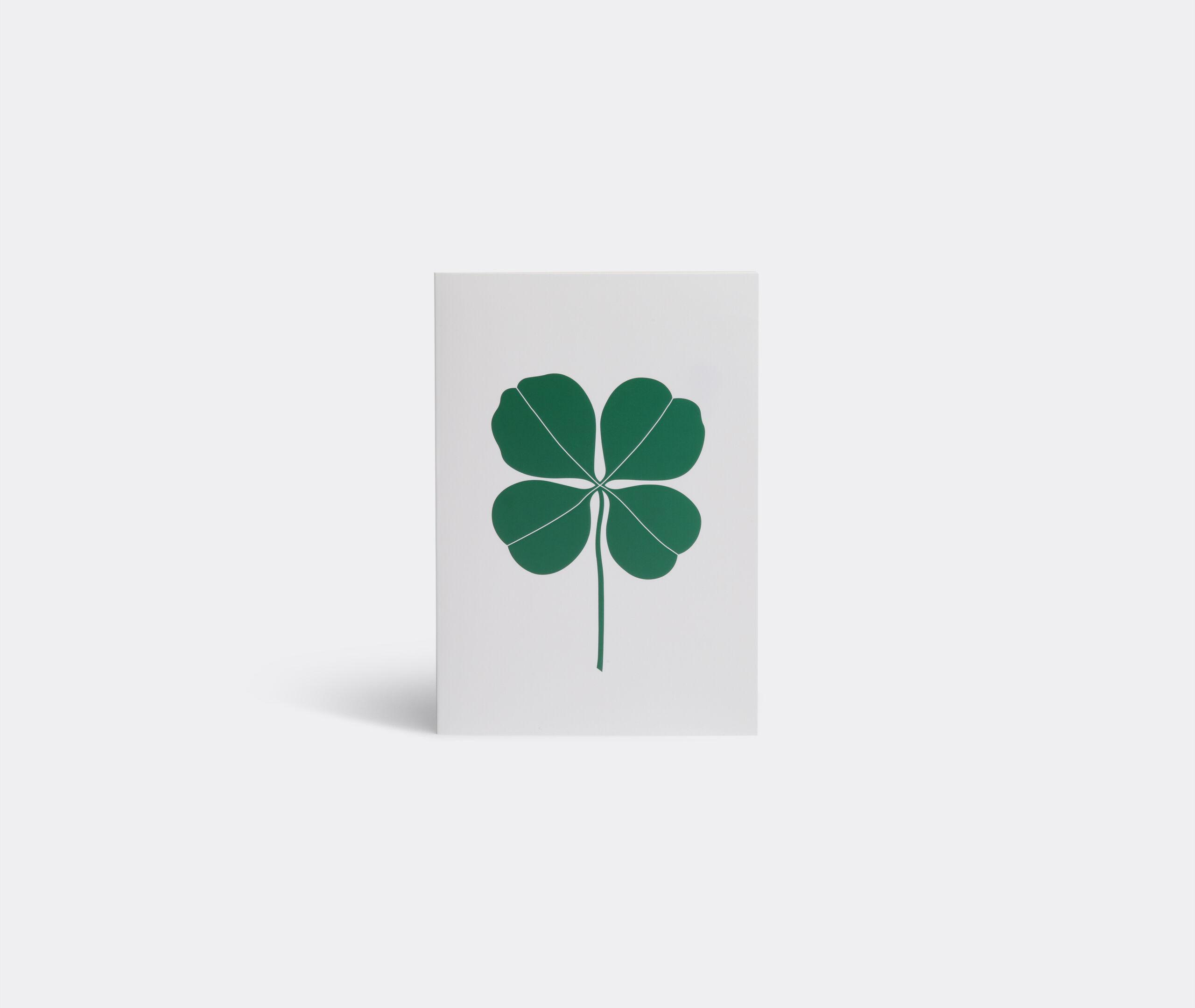 Greeting Card - Four Leaf Clover
