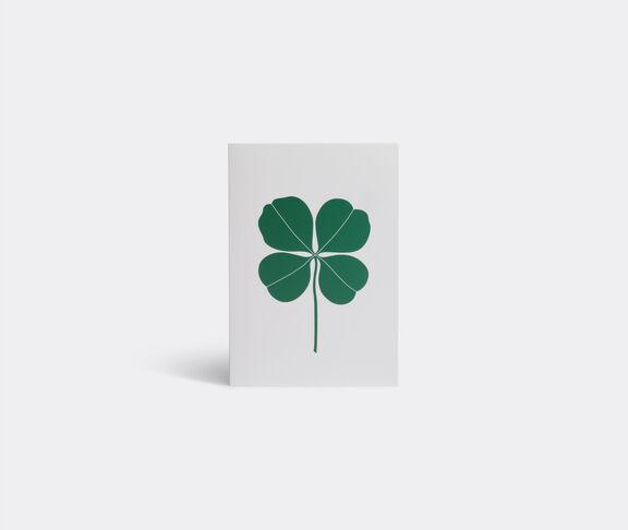 'Four leaf clover' greeting card