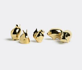 Brass Block Squirrel
