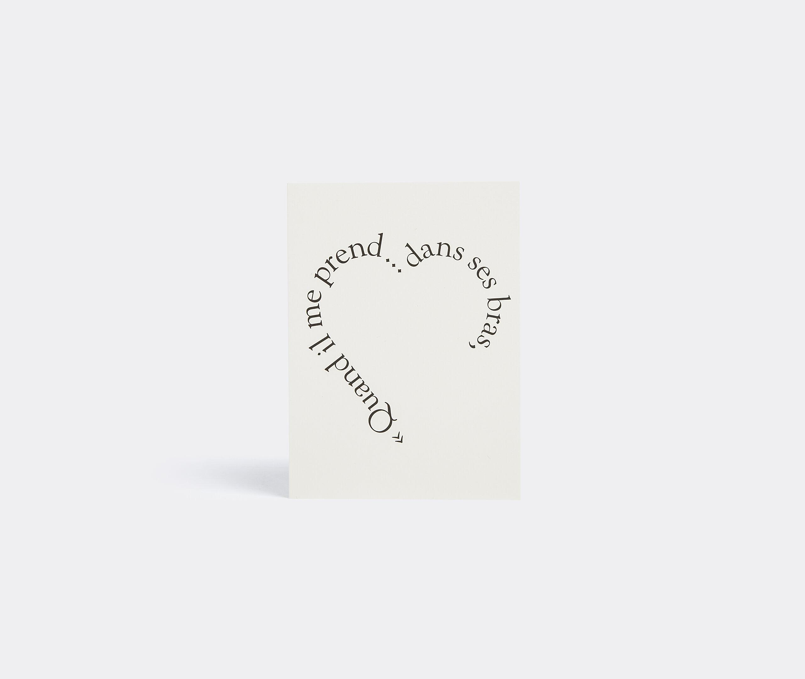 Greeting Card Quand Il Me Prend Dans Ses Bras