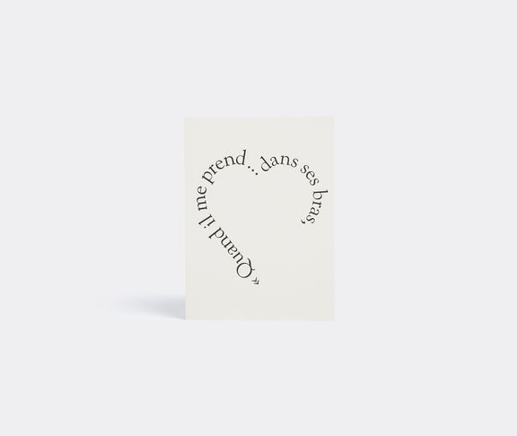 'Edith Piaf' greetings card