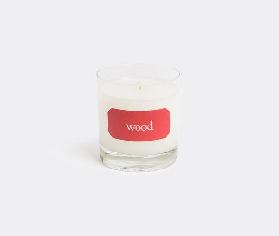 'Wood' candle