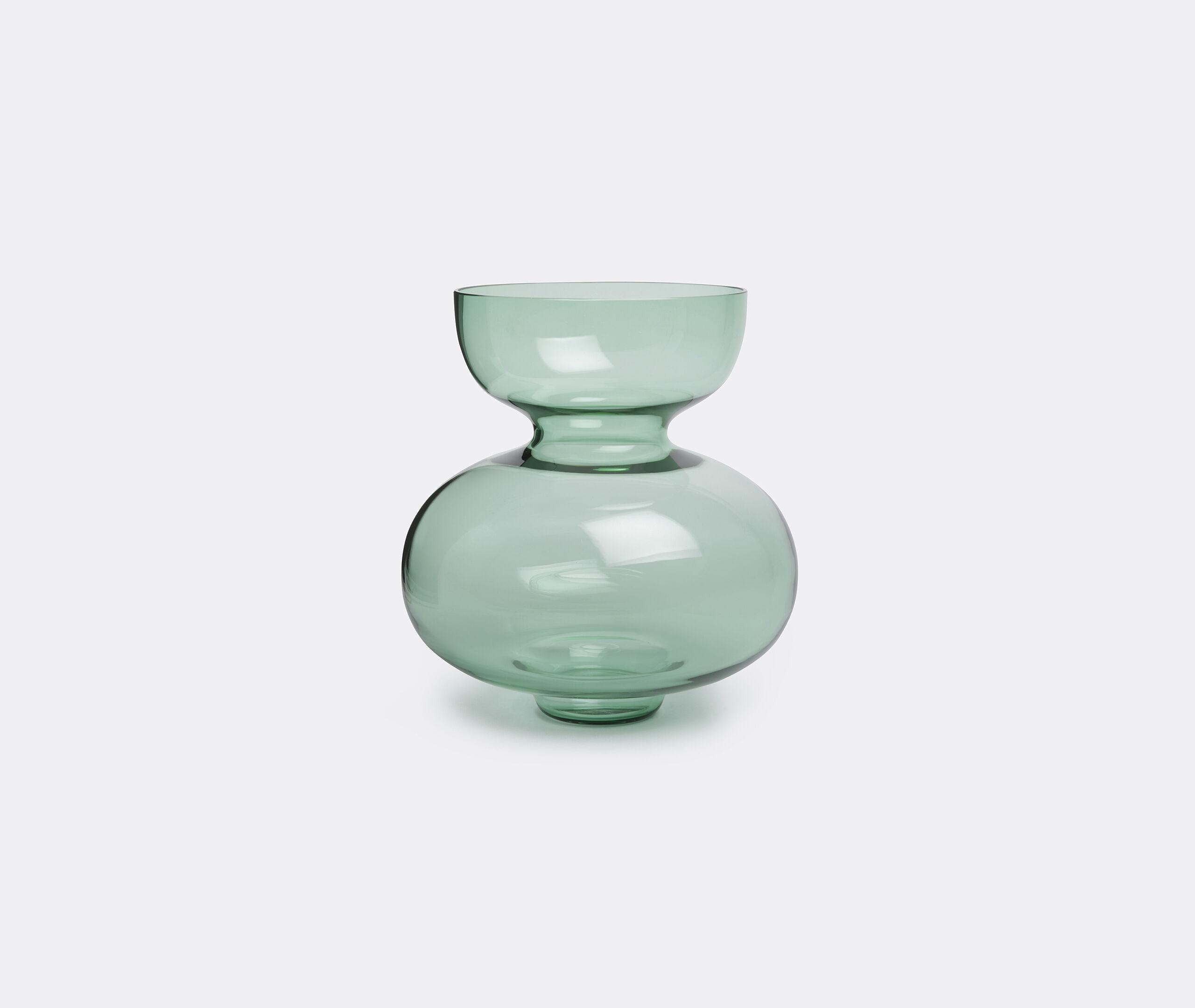 Alfredo Glass Vase, Light Green