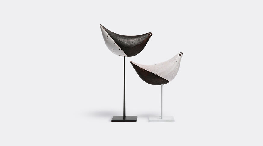 Set Of 2 Birds On Stand