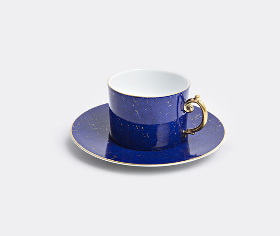'Lapis' teacup and saucer, set of two