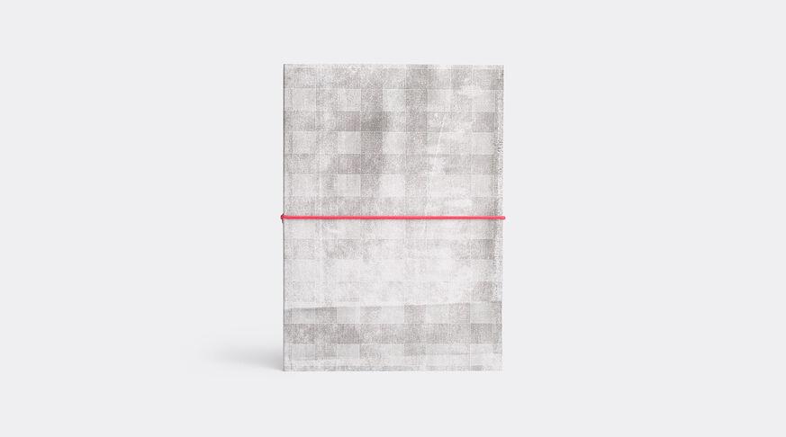 Cahier Bloc Square Noir & ÉLastiq. Rouge A5 Pages Blanches
