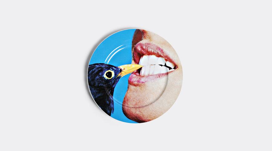 Toiletpaper Porcelain Dinner Plate Ø Cm.27 - Blackbird
