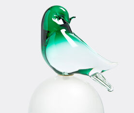 B3Transparent Coloured Bird With Trasparent Sphere