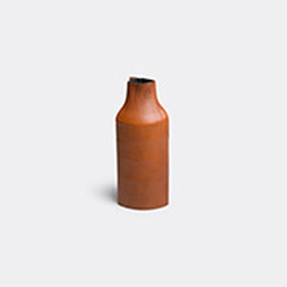 'Boiled' leather bottle