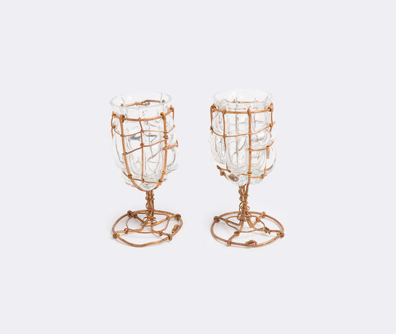 'Image' set of two glasses