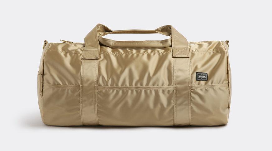 Gold T Boston Bag C
