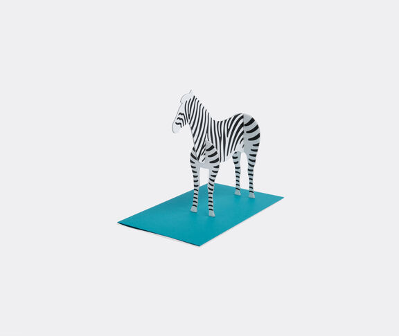 'zebra' post animal kit
