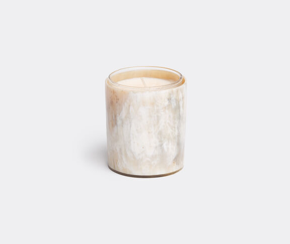 Candleholder with scented candle