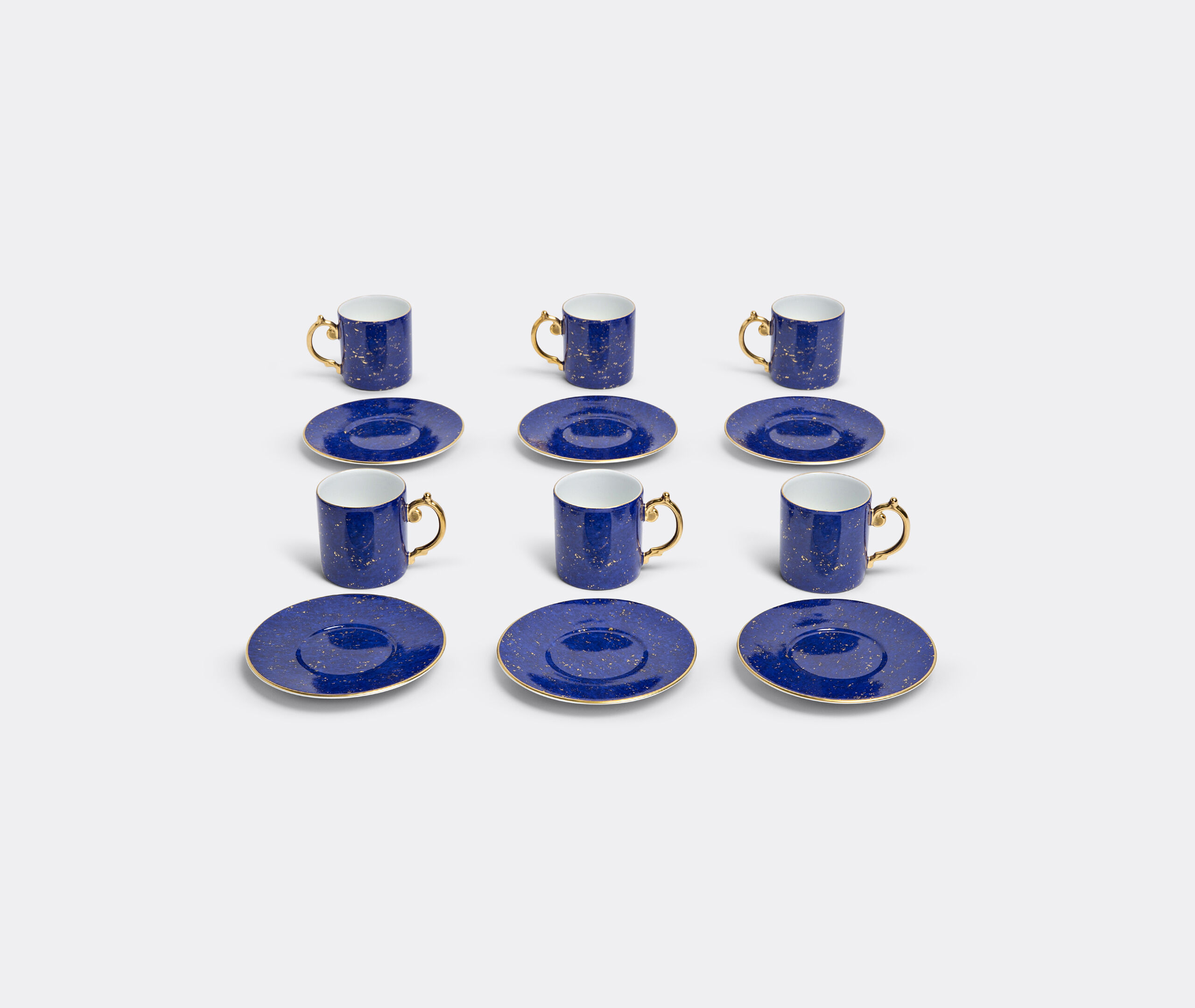 Lapis Espresso Cup + Saucer (Gift Box Of 6)