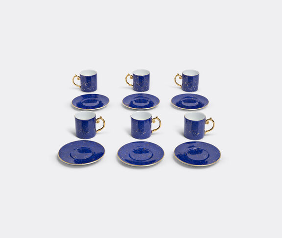 'Lapis' espresso cup and saucer, set of six