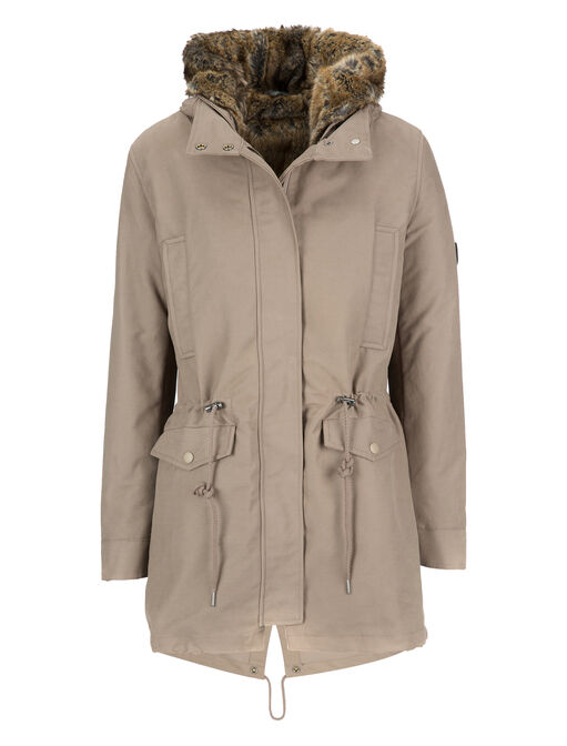 W'S SHERMAN FISHTAIL PARKA - FAKE FUR