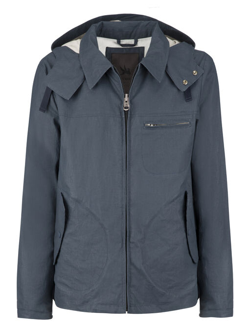 ESSEX HOODED OVERSHIRT